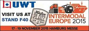Meet UWT and WDS at INTERMODAL 2015
